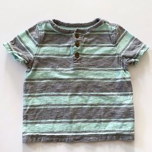 Old Navy Striped Henley Size 12-18 Months